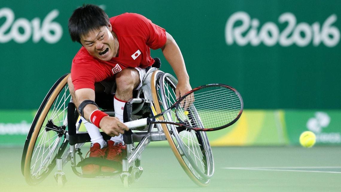 テニス国枝選手